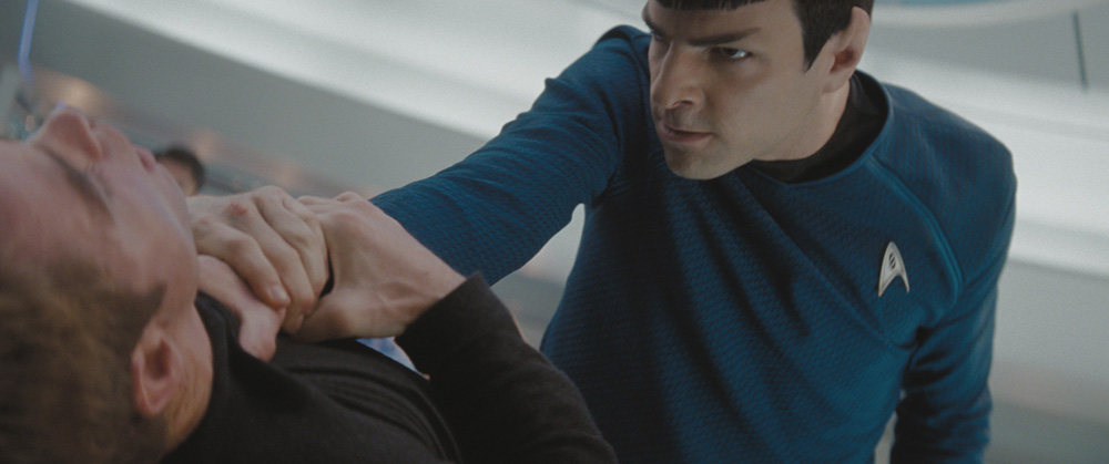 Kirk getting LIT by Spock