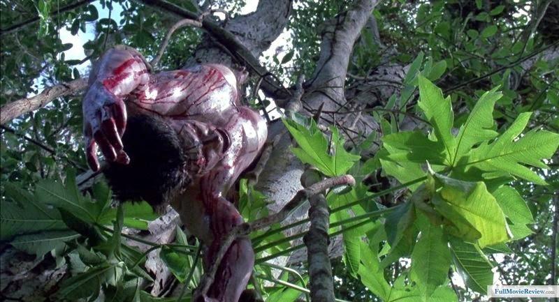 Dead human pre-skinning, pre-de-skulling