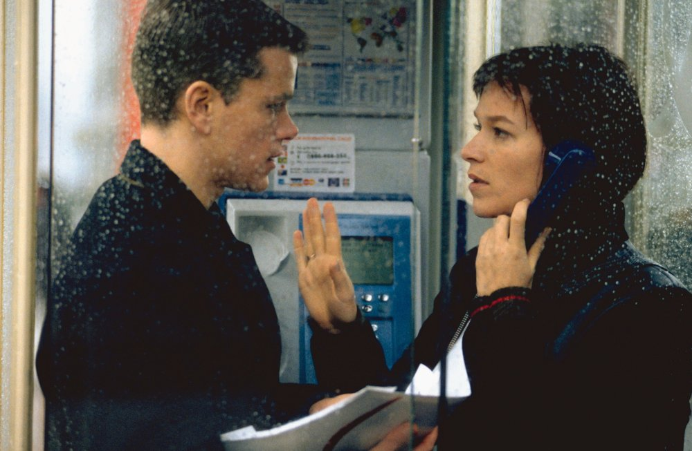 Marie helping Bourne