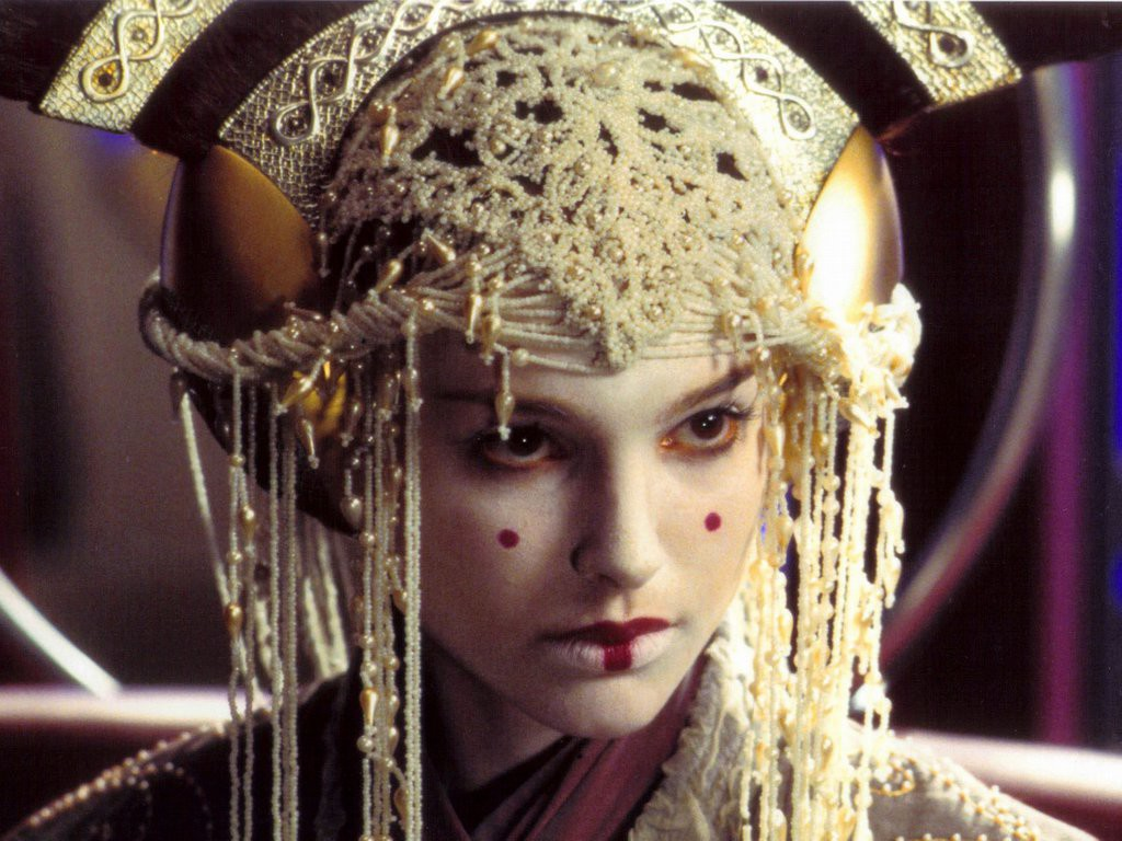Queen Amidala a big fan of Japanese culture. Although, Star Wars being set in the past, I guess Japan stole from Amidala.