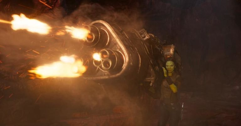 gamora shooting