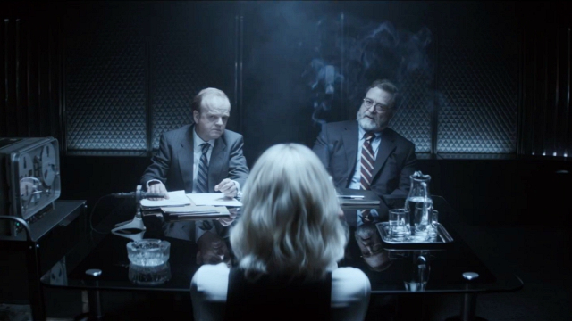 MI-6 and CIA together in one smoky room.