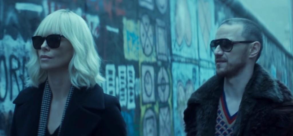 Just two cool chicks talkin' spy stuff.
