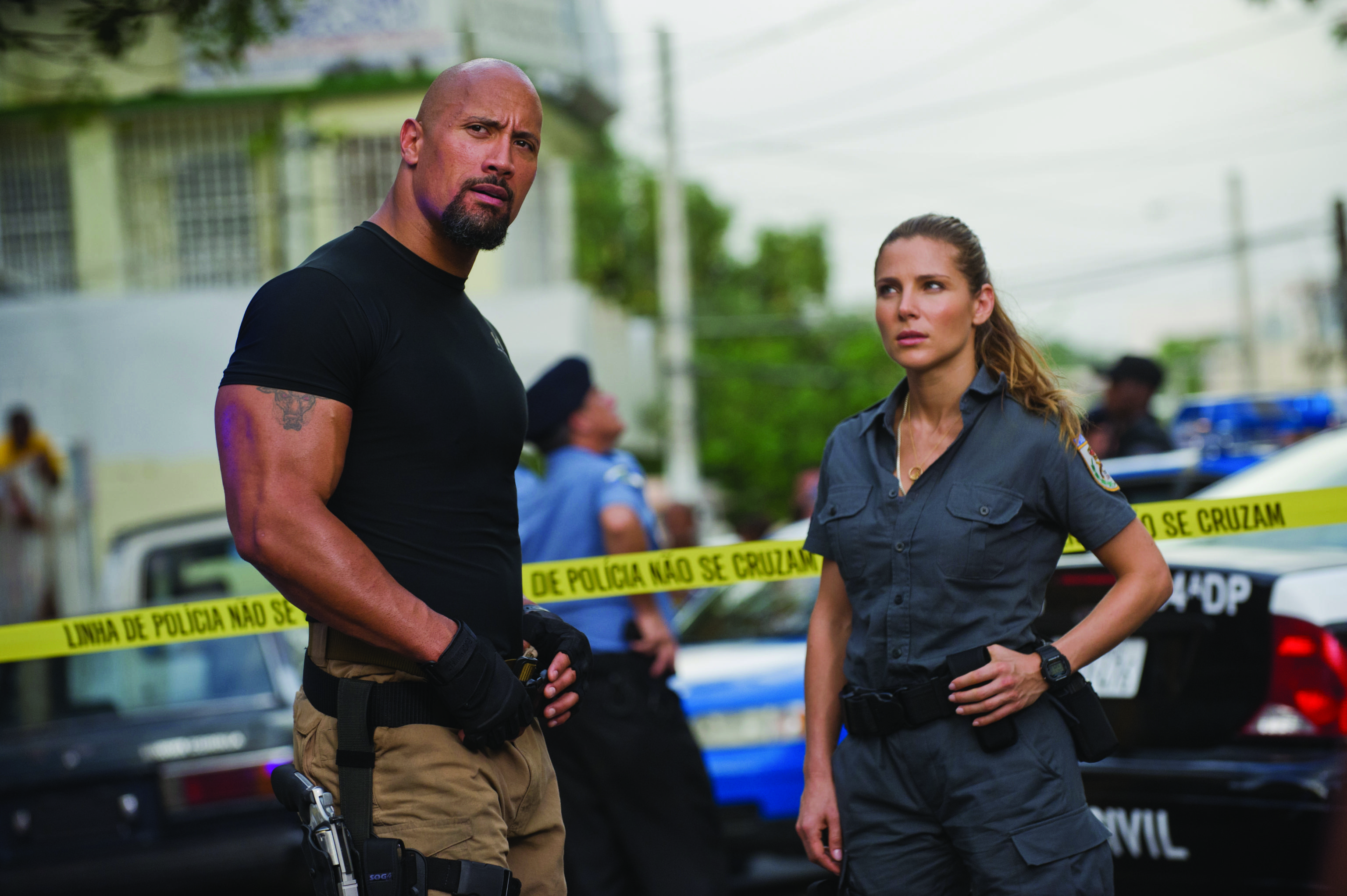 fast and furious, 13. When a DSS agent, Hobbs and his associate Elena - aims to arrest Dom and Brian. Instead, they end up aiding them.